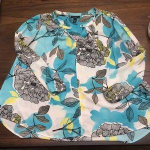 Alfani women's size 12 long sleeved blouse